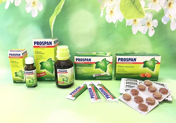 Thuốc chữa viêm họng Prospan