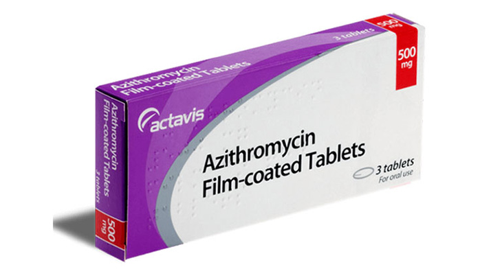 Thuốc chữa viêm họng Azithromycin