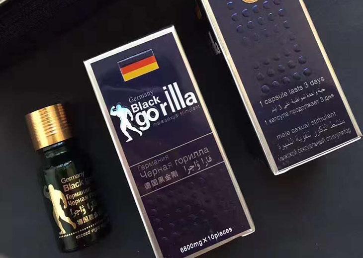 Nhiều quý ông tin dùng thuốc cường dương của Đức Black Gorilla để tăng sinh lý