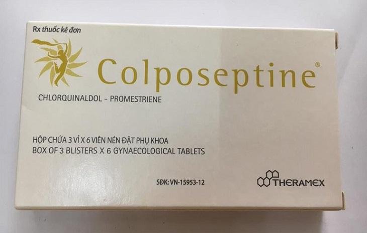 Thuốc đặt viêm cổ tử cung colposeptine