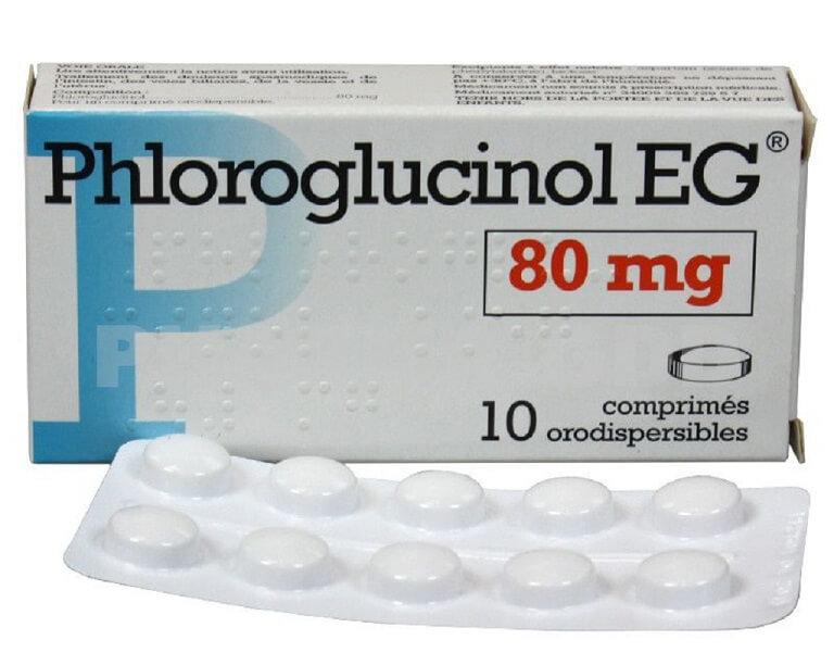 Phloroglucinol - Thuốc giảm đau, hạn chế co thắt