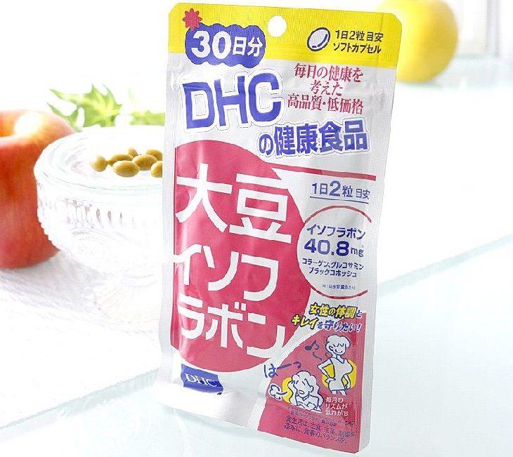 Viên uống DHC Nhật Bản được chiết xuất chính từ mầm đậu nành