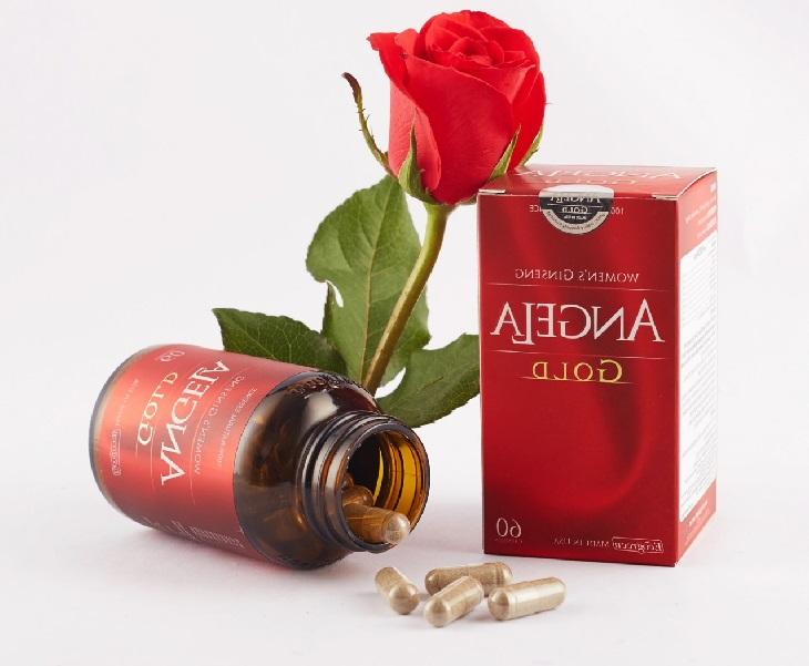 Viên uống sâm Angela Gold có tác dụng tăng ham muốn ở nữ giới tốt