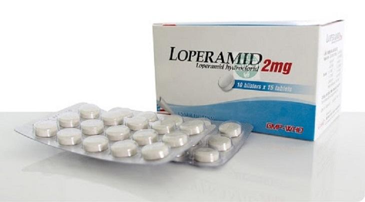Loperamide - Điều trị hội chứng ruột kích thích