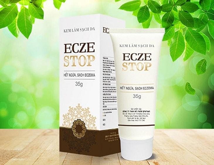 Nhiều người lựa chọn Eczestop để cải thiện da mặt