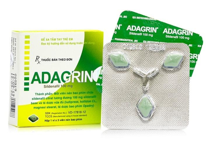 thuốc trị rối loạn cương dương Adagrin;