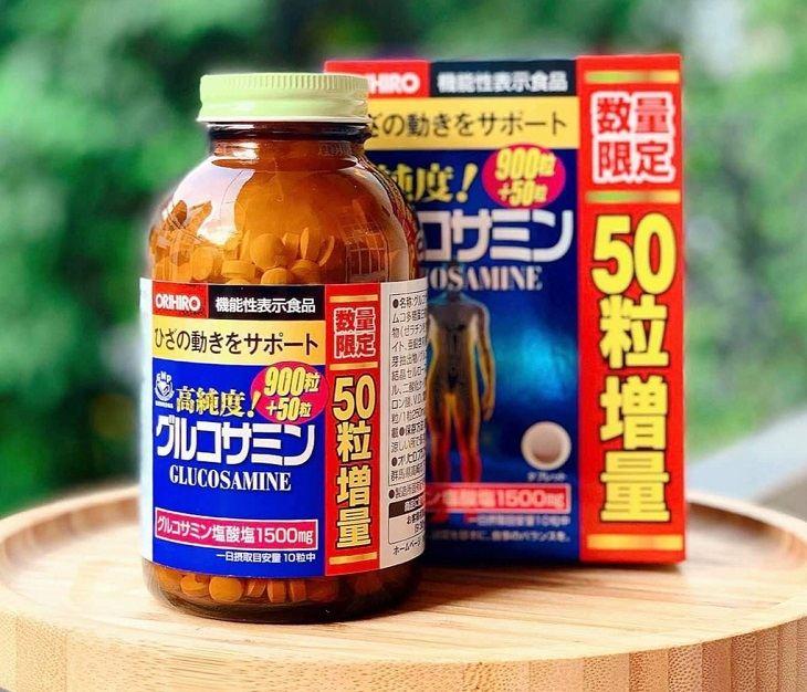 Glucosamine Orihio là sản phẩm thuốc chữa thoái hóa của Nhật