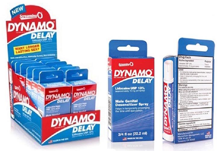 Thuốc xịt chống xuất tinh sớm Dynamo Delay