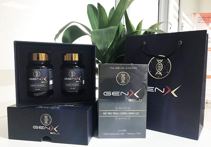 Gen X giúp tăng cường sinh lý nam, ngăn ngừa xuất tinh sớm