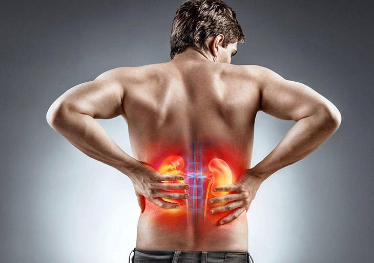 Bệnh lý thường gặp ở nam giới đó là tình trạng suy thận, viêm đường tiết niệu...
