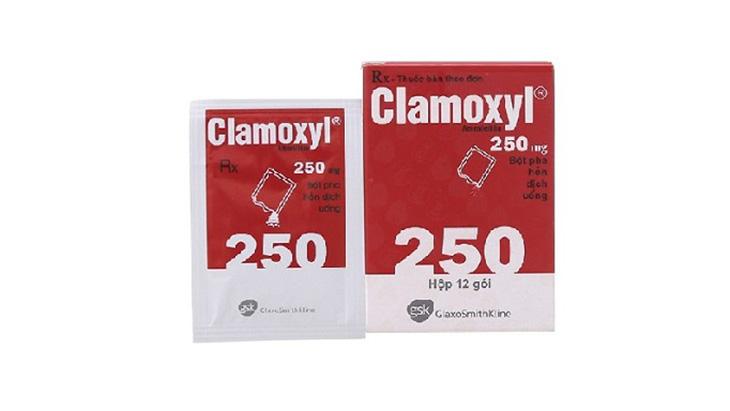 Thuốc kháng sinh clamoxyl