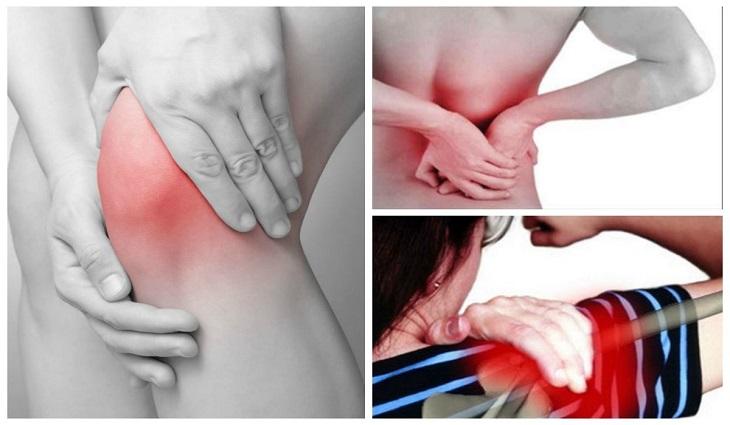Tùy vào dạng viêm khớp, người bệnh sẽ cảm thấy vị trí và mức độ đau nhức khác nhau