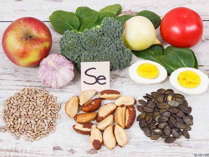 Bổ sung nhóm thực phẩm giàu khoáng chất Selen