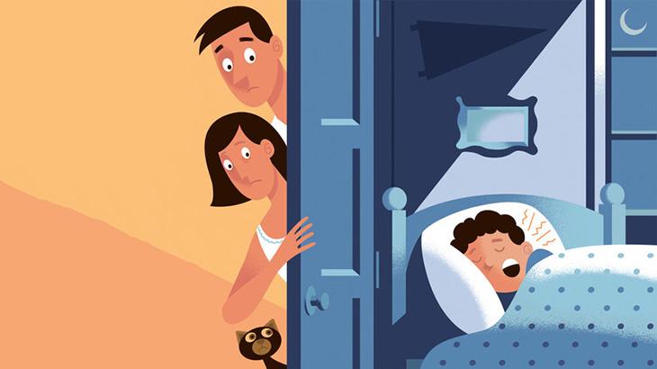 Ngáy ngủ có thể là dấu hiệu của chứng ngưng thở khi ngủ