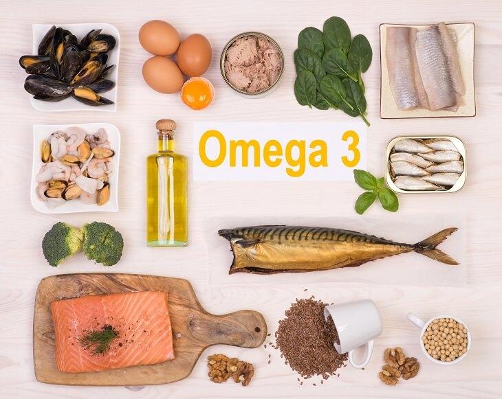Thực phẩm omega 3 giúp kháng khuẩn và phục hồi niêm mạc dạ dày bị tổn thương