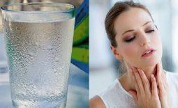 Viêm họng uống nước đá có nên không? Tìm hiểu bản chất của viêm họng