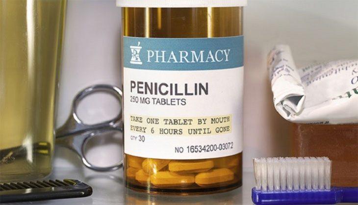 Penicillinlà thuốc kháng sinh trị viêm họng cho bà bầu phổ biến hiện nay