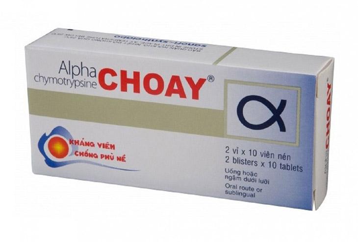 Alpha choay viêm họng là thuốc có tác dụng kháng viêm, kháng khuẩn, đẩy lùi đau họng