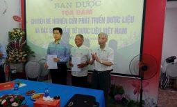 Ông Nguyễn Quang Hưng - Chủ tịch HĐQT Công ty CP Thuốc dân tộc được bổ nhiệm làm Phó ban dược Hội Nam Y Việt Nam