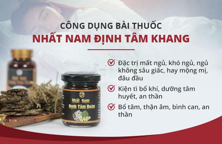 Nhất Nam Định Tâm Khang đem đến công dụng tuyệt vời