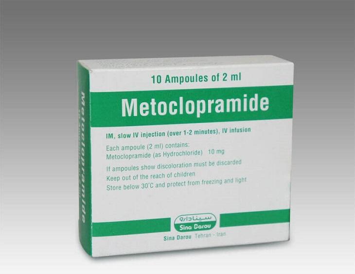 Thuốc đau dạ dày của Mỹ Metoclopramide
