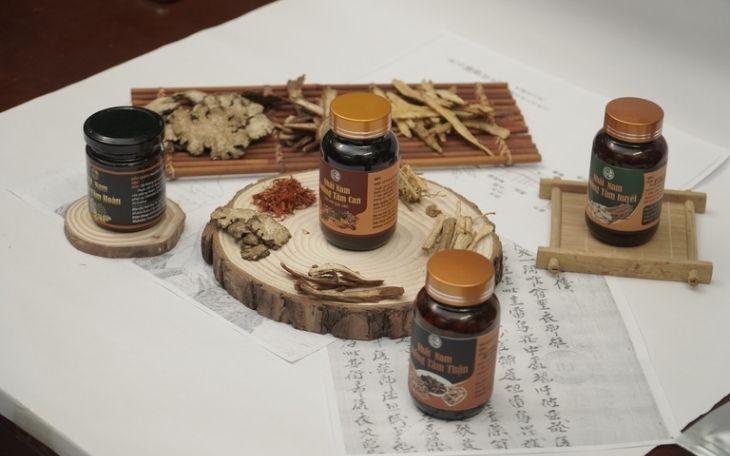 Nhất Nam Định Tâm Khang gồm 4 bài thuốc nhỏ phù hợp với từng thể bệnh