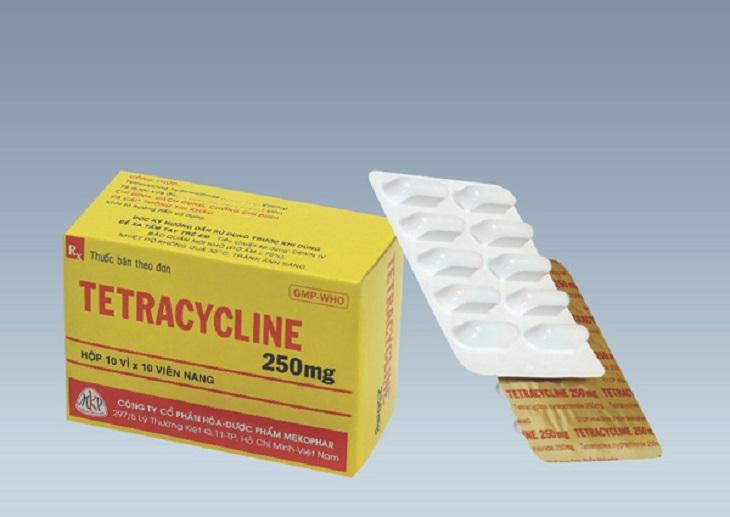 Tetracycline có tác dụng ức chế vi khuẩn gây hại dạ dày