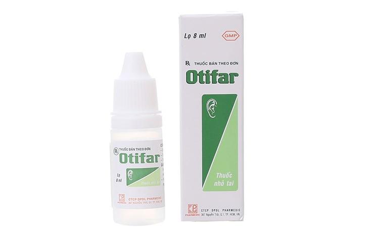 Thuốc nhỏ Otosan có tác dụng chống viêm, trị ngứa vùng ống tai hiệu quả