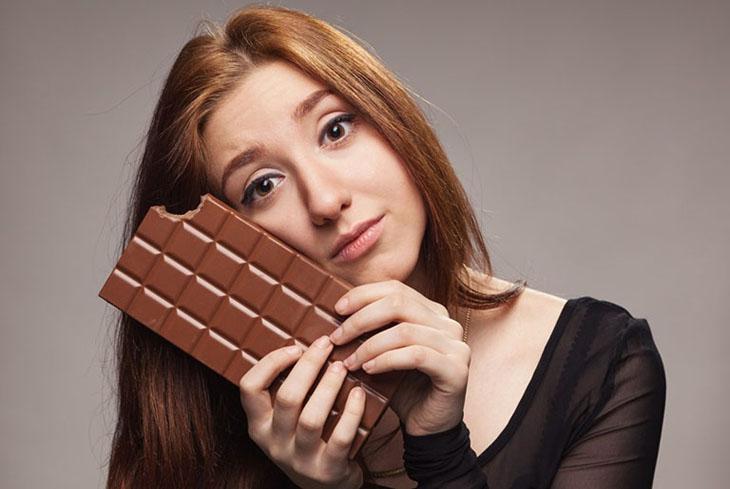 Ăn socola hợp lý để không ảnh hưởng đến chất lượng giấc ngủ