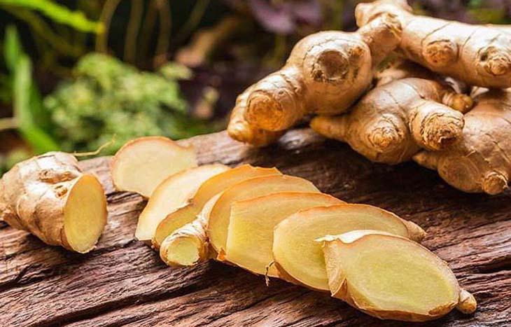 Bài thuốc với gừng, muối và mật ong