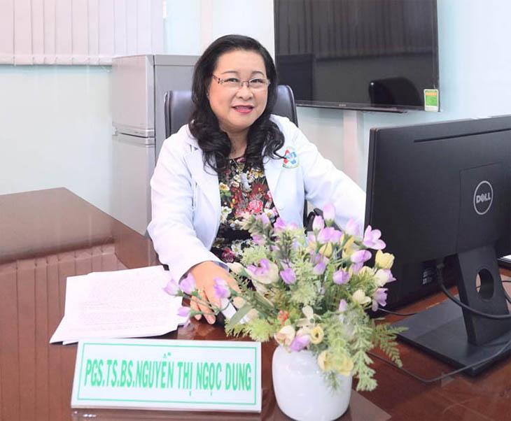 Bác sĩ chữa viêm họng giỏi Nguyễn Thị Ngọc Dung