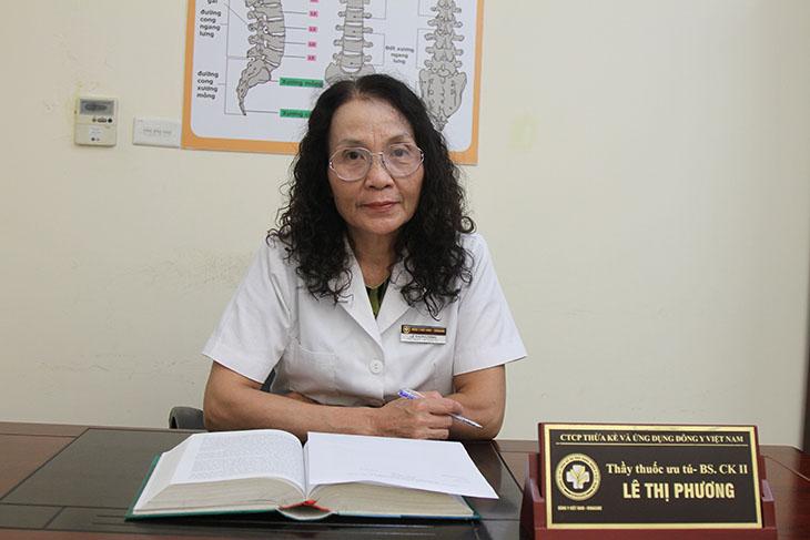 Bác sĩ Lê Phương chữa viêm amidan cho cháu tôi