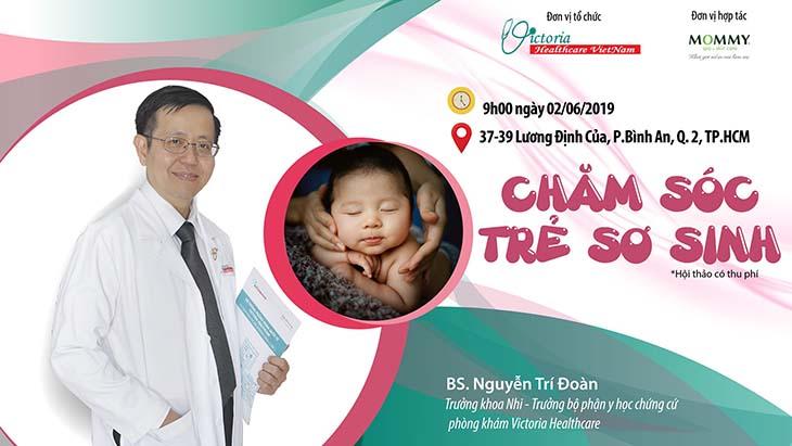 Bác sĩ Nguyễn Trí Đoàn phối hợp cùng phòng khám thường tổ chức các buổi hội thảo tư vấn sức khỏe cho trẻ