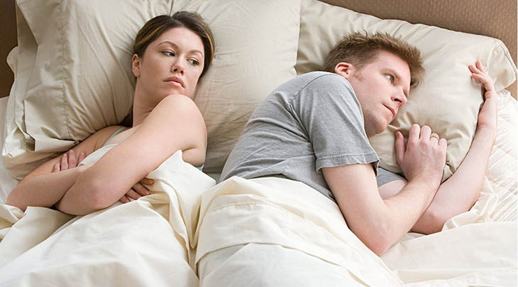 Nhu cầu tình dục không được đáp ứng là một trong những nguyên nhân gây rạn nứt tình cảm