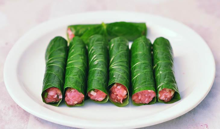 Các món ăn từ lá lốt đem đến vị thơm ngon, lạ miệng