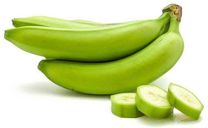 Chuối xanh hỗ trợ phục hồi vết loét dạ dày