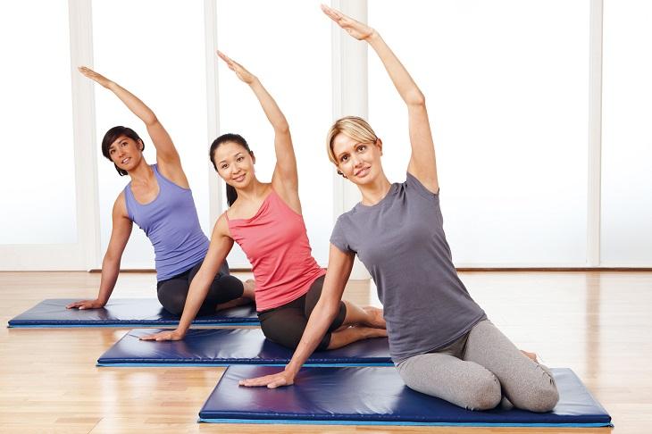 Luyện tập yoga giúp phục hồi tổn thương
