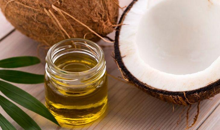 Dầu dừa có tác dụng trị viêm da cơ địa