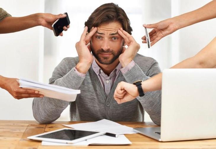 Tình trạng căng thẳng kéo dài ở nam giới có thể gây suy yếu sinh lý