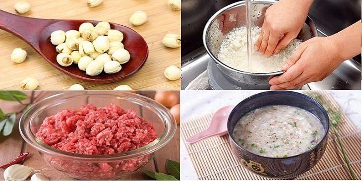 Đau dạ dày nên ăn cháo hạt sen