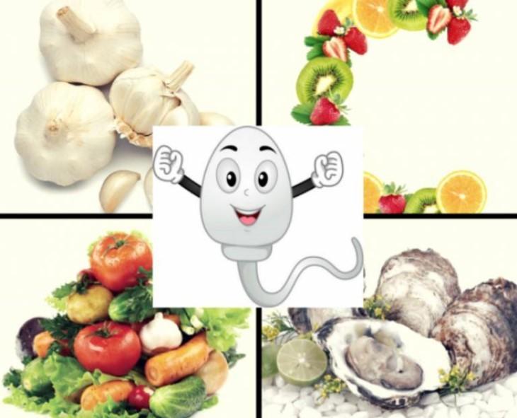 Cải thiện tình trạng xuất tinh ít hiệu quả bằng cách bổ sung thực phẩm có ích cho tinh trùng