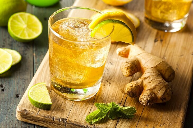Nước gừng, mật ong và chanh chữa trào ngược dạ dày thực quản