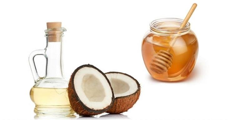 Mật ong và dầu dừa hỗ trợ làm giảm triệu chứng của viêm da cơ địa