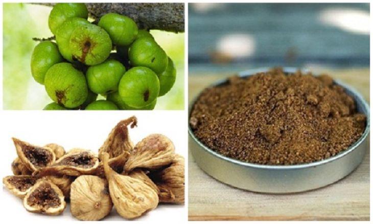Dùng bột quả sung chữa viêm đại tràng