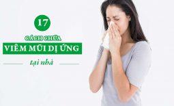 Các phương pháp chữa viêm mũi dị ứng tại nhà