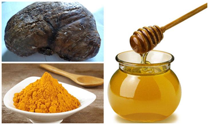 Kết hợp dạ dày nhím với mật ong và nghệ