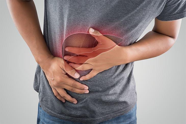 Gan là vị trí nằm gần thượng vị nên khi có cảm giác đau, cơ thể đang báo hiệu vấn đề về gan, thận