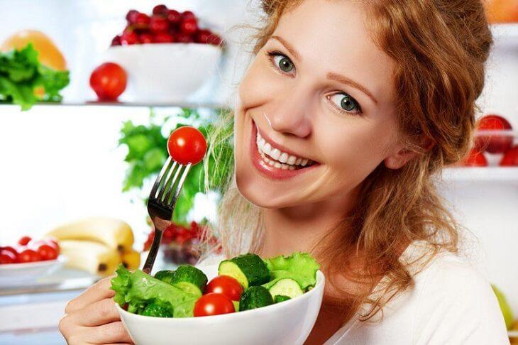 Đau dày nên ăn uống khoa học, lành mạnh