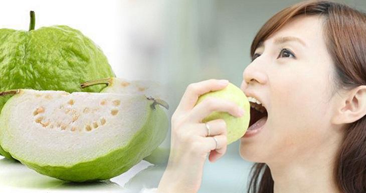 Bạn nên ăn ổi vào buổi sáng để tốt cho hệ tiêu hóa