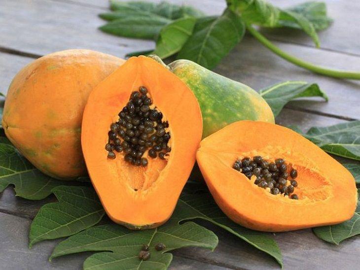 Đu đủ chín là loại quả giúp bạn giảm đau dạ dày